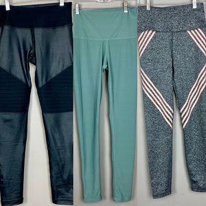 Reebok, 90 Degree, C&C leggings size small bundle